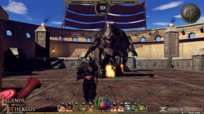 Legends of Aethereus ScreenShot 3