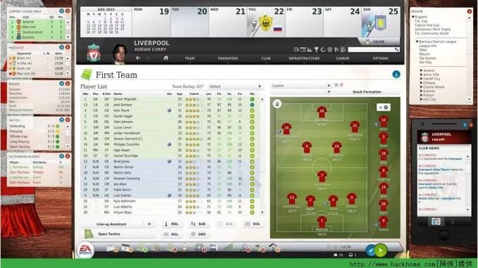 FIFA Manager 14 Game Screenshot 3