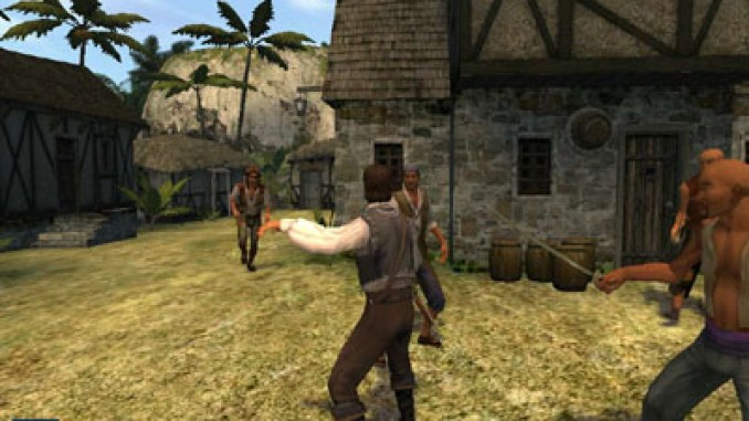 Pirates of the Caribbean Game Screenshot 1