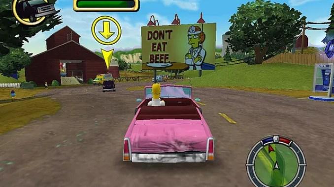 The Simpsons Hit Run Screenshot 1