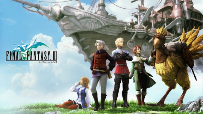 Final Fantasy III Game Full Free Download