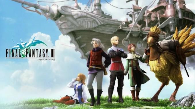 Final Fantasy III Game Full Free Download
