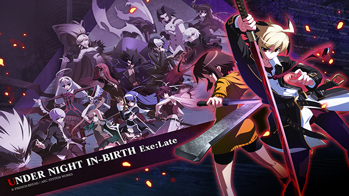 Under Night In-Birth Exe:Late Free Full Game Download