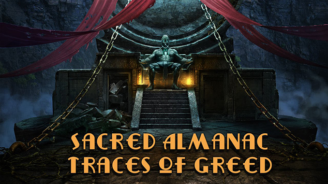 Sacred Almanac Traces of Greed Free Full Game Download