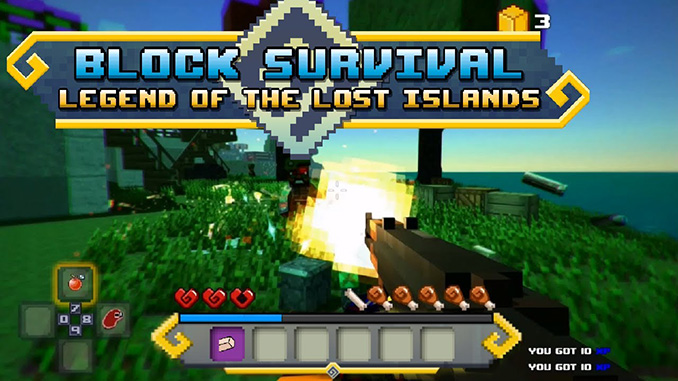 Block Survival: Legend of the Lost Islands Free Game Full Download