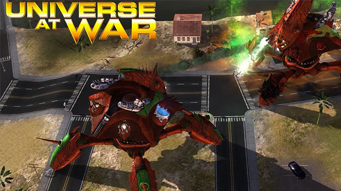 Universe at War: Earth Assault Free Game Download Full