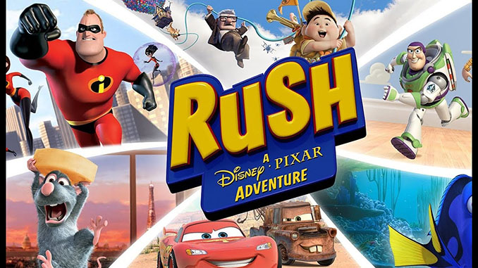 Rush: A Disney - Pixar Adventure Free Game Full Download