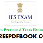 IES Previous Year Papers
