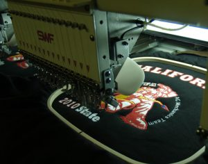 how to get logo embroidered