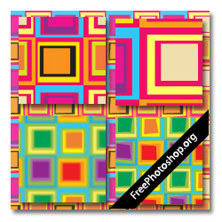 offset squares patterns