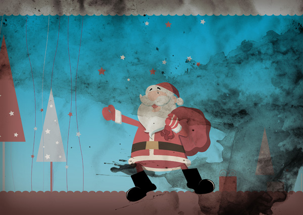 santa clous background