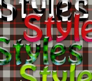 Glassy Shiny Styles