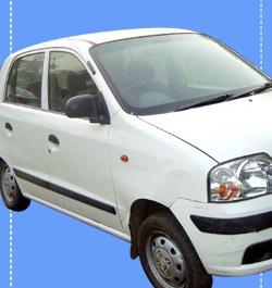 White Modern Car