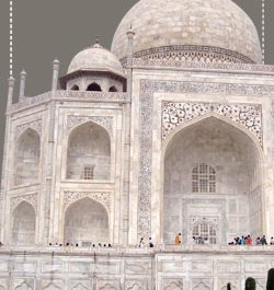 Taj Mahal Building