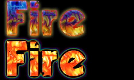 Fire Layer Style