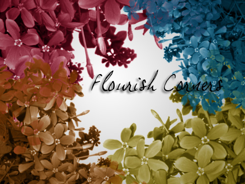 Corner Flourish Brush