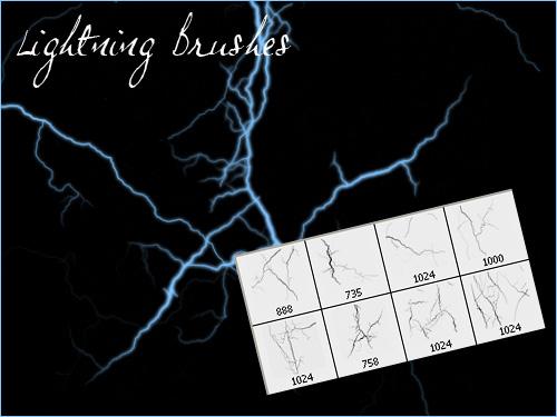 Lightning brush
