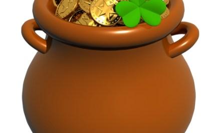 Saint Patrick's Day Cauldron