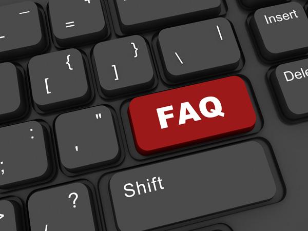 FAQ Button – Free Picture