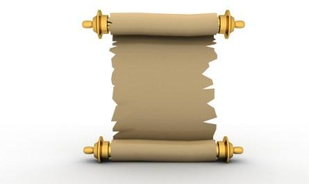 Parchment Paper Banner