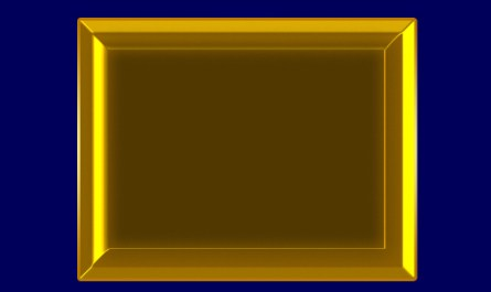 Gold Photo Frame Style