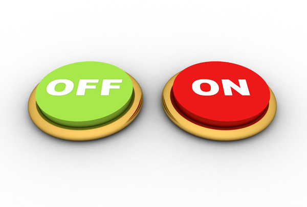On OFF Button – Free Picture