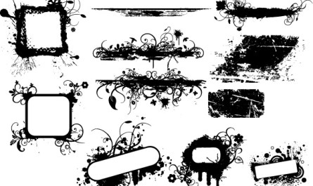 Retro Graphic Banners