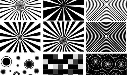 Retro Sunburst Graphic Designs