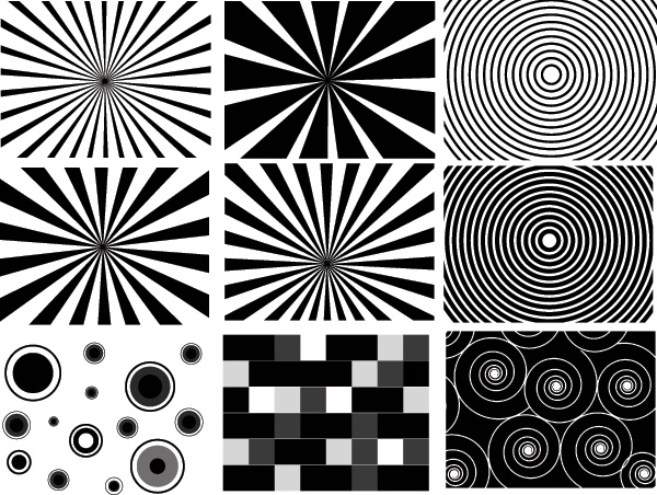 Free Retro Sunburst Brushes, Shapes, Vectors, PNG and Picture