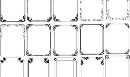 Vintage Frames Designs