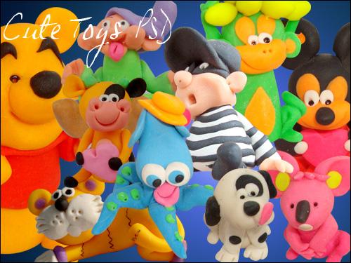 Toys Psd