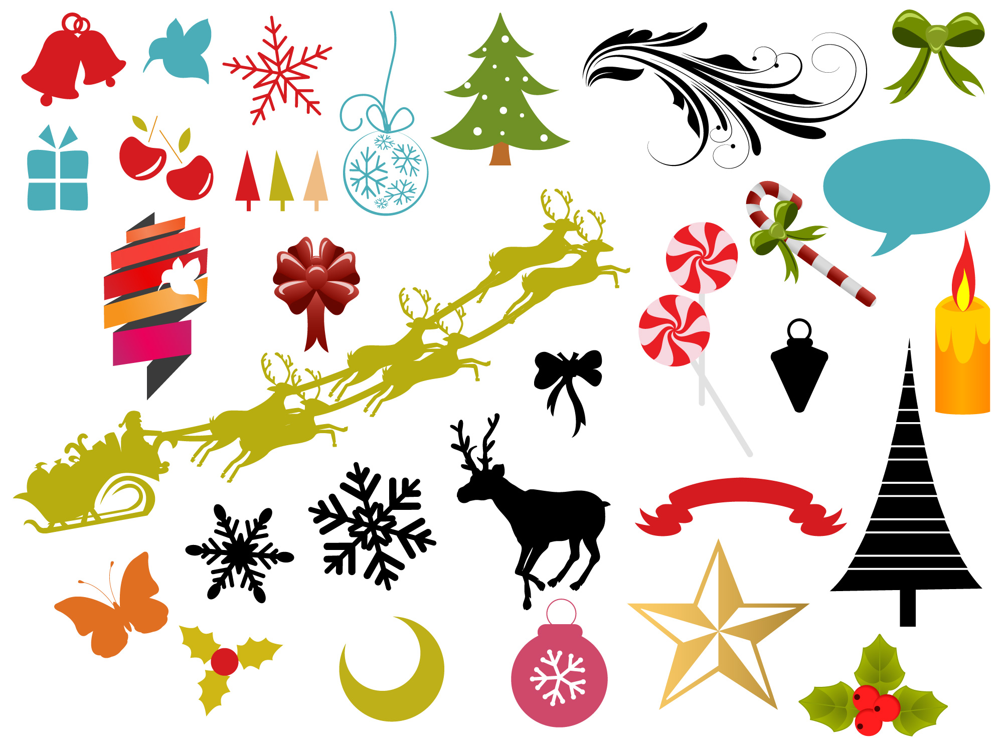 Christmas Vectors Brushes Shapes Amp Picture