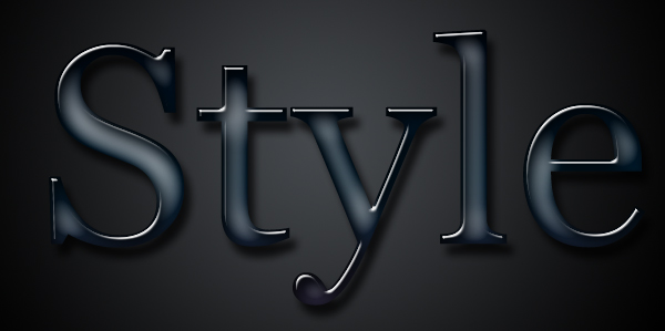 style for text