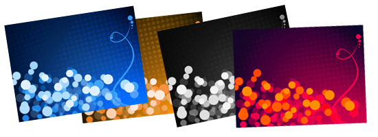 Defocused Lights Backgrounds