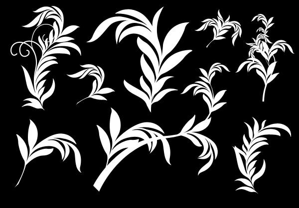 foliage shapes