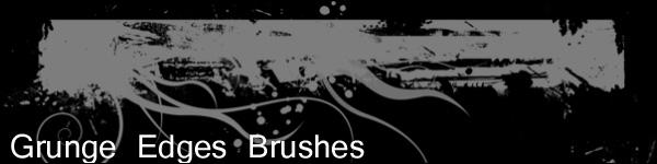 grunge edges brushes