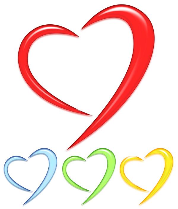 hearts psd