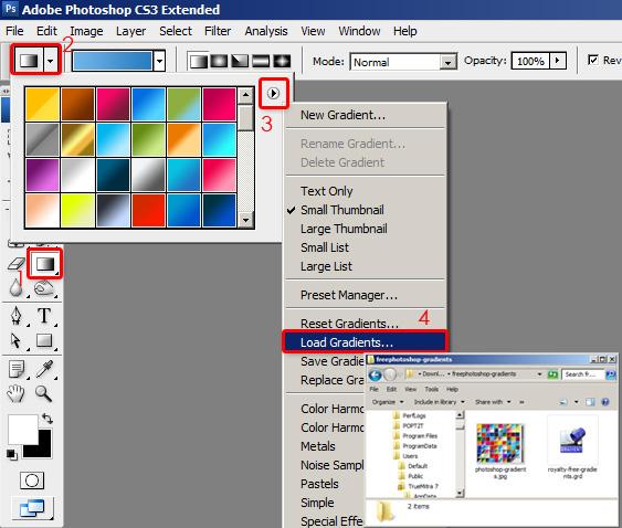 installing gradients