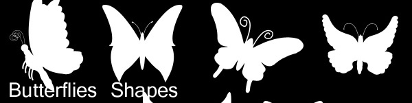 butterfly shapes