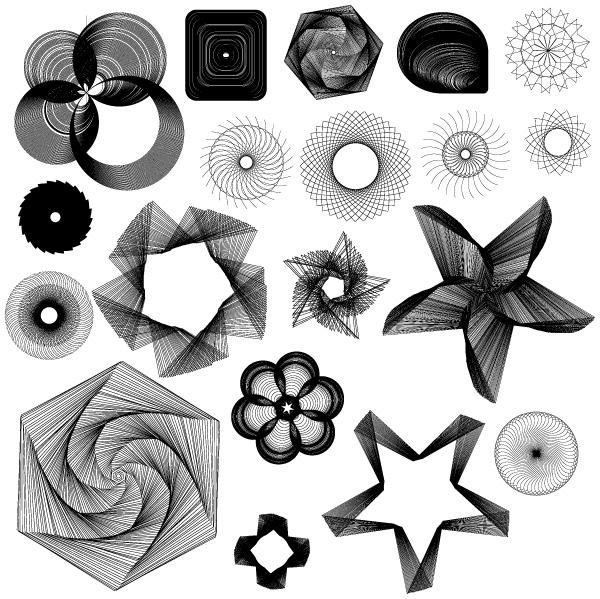 spiro graph designs