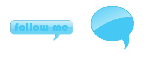 Twitter Speech Bubbles