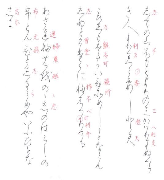 関戸本古今集