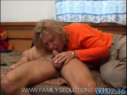 FamilySeductions.com Incest Fantasy Porn SiteRip - Son Is Drunk, Mother Uses The Opportunity To Get Him To Have Forbidden Sex With Her. FreePornSiteRips.com