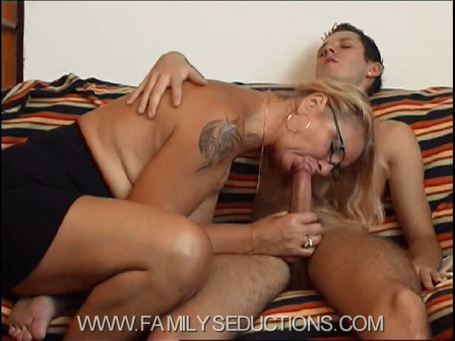 FamilySeductions.com SiteRip - Mother-Son Incest Fantasy Porn Video - After Catching Her Son Measuring The Size Of His Own Dick, Mom Decides To Boost Son's Convenience. FreePornSiteRips.com