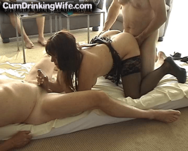 Horny Cumslut Wife Marion Gets Gangbanged By Complete Strangers Once Again. This Time At Her Own Home, With Her Cuckold Husband Filming.