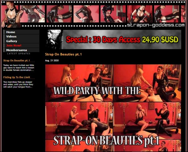 Strapon-Goddess.com SiteRip - Lady Asmondena Is A Cruel Mistress Who Likes To Turn Regular Guys Into Sissy Sluts, Humiliate Them And Fuck Them With Huge Strapon Dildos. Her Femdom Humiliation Methods Also Include Dirty Talk, Dildos, Vibrators And Even Fisting!