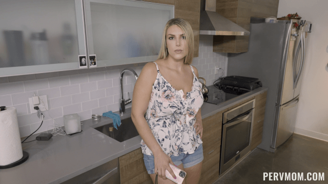 Stepson Discoveres That His Hot Stepmom Joslyn Jane Has Been Watching MIF Porn, So He Decides To Offer Her To Make This Fantasy Become A Reality.