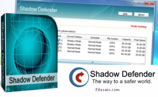 Shadow Defender - download in one click