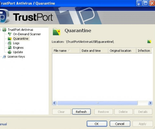 TrustPort Antivirus USB Edition Free Download