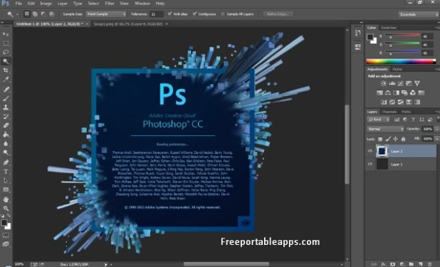 Portable Adobe Photoshop CC 2018 v19.1.5.61161 (x64) Multilanguage